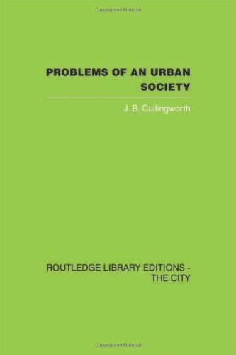9780415418089: Problems of an Urban Society: The Social Framework of Planning