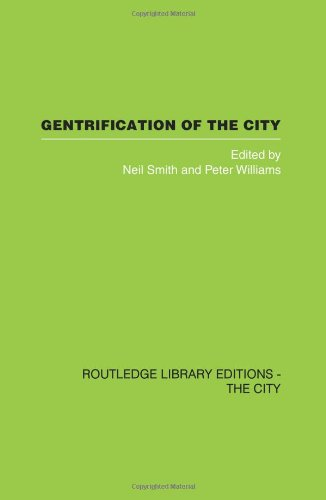 9780415418294: Gentrification of the City (Routledge Library Editions: The City)