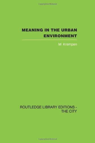 9780415418324: Meaning in the Urban Environment