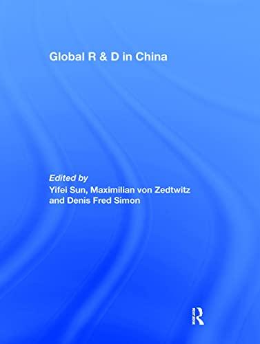 9780415418515: Global R&D in China
