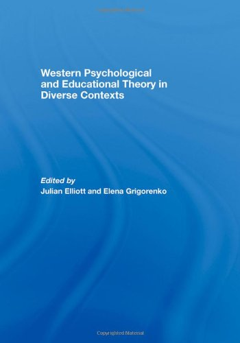 9780415418522: Western Psychological and Educational Theory in Diverse Contexts