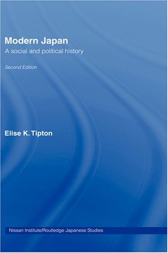 9780415418706: Modern Japan: A Social and Political History (Nissan Institute/Routledge Japanese Studies)