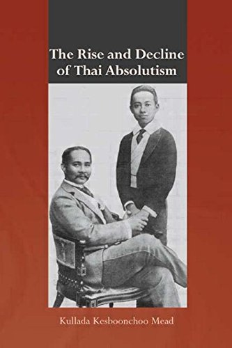 9780415421942: The Rise and Decline of Thai Absolutism (Routledge Studies in the Modern History of Asia)