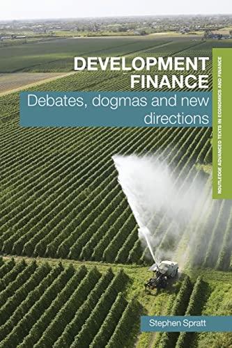 9780415423175: Development Finance (Routledge Textbooks in Development Economics)