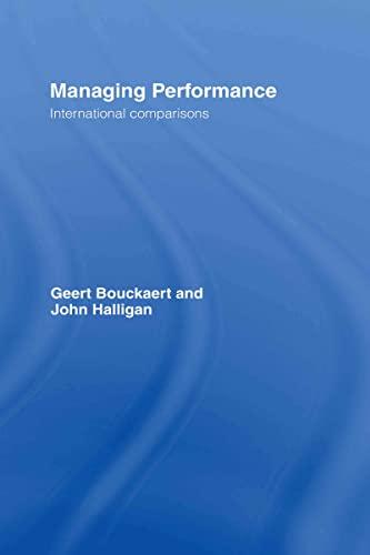 9780415423946: Managing Performance: International Comparisons