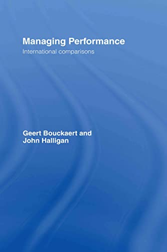 9780415423946: Managing Performance: International Comparisons