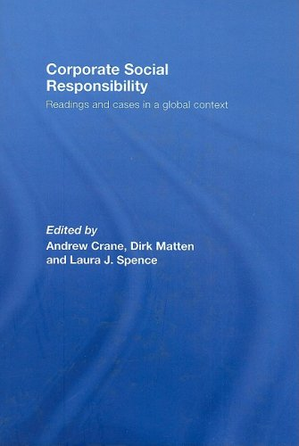 9780415424288: Corporate Social Responsibility: Readings and Cases in a Global Context