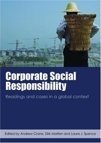 9780415424295: Corporate Social Responsibility: Readings and Cases in a Global Context