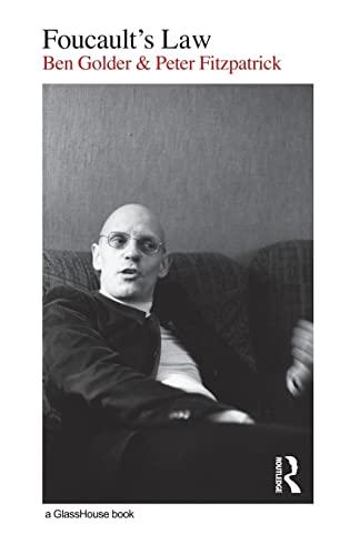 Foucault's Law (0415424542) by Golder, Ben; Fitzpatrick, Peter