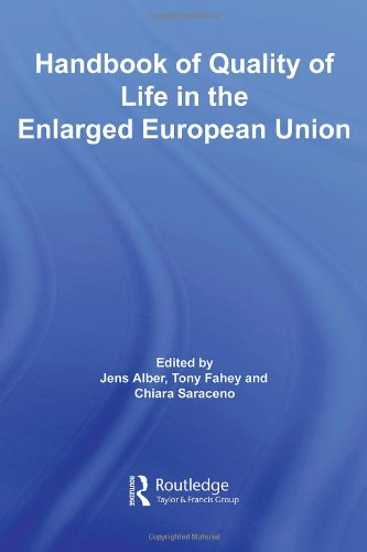 9780415424677: Handbook of Quality of Life in the Enlarged European Union