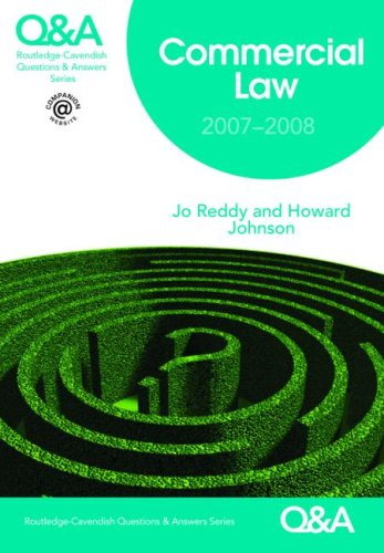 9780415424899: Q&A Commercial Law 2007-2008 (Questions and Answers)