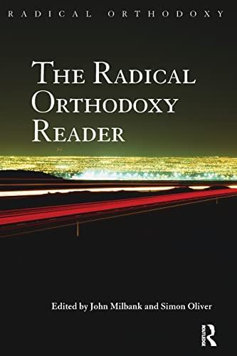 9780415425131: The Radical Orthodoxy Reader
