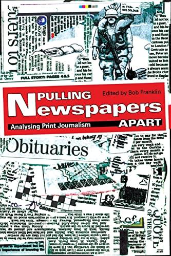 9780415425568: Pulling Newspapers Apart: Analysing Print Journalism