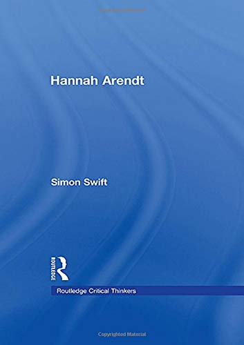 9780415425858: Hannah Arendt (Routledge Critical Thinkers)