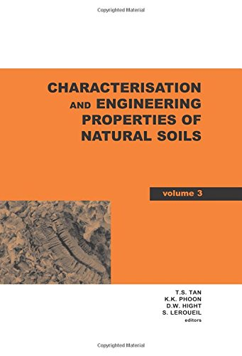 Characterisation and Engineering Properties of Natural Soils, Two Volume Set: Proceedings of the ...