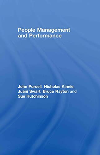 9780415427791: People Management and Performance
