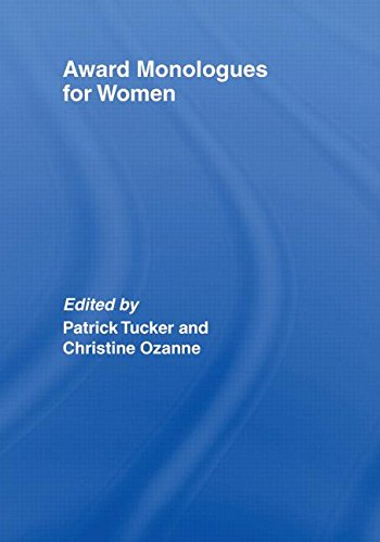 9780415428392: Award Monologues for Women