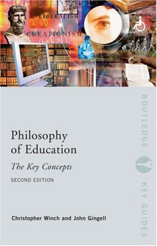 9780415428927: Philosophy of Education: The Key Concepts. Routledge. 2008.
