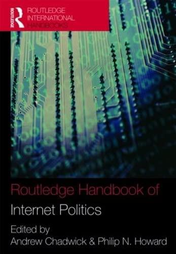 9780415429146: Routledge Handbook of Internet Politics (Routledge International Handbooks)