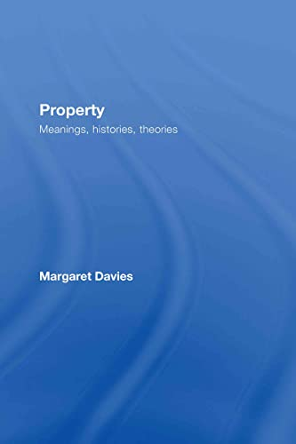 9780415429337: Property: Meanings, Histories, Theories (Critical Approaches to Law)