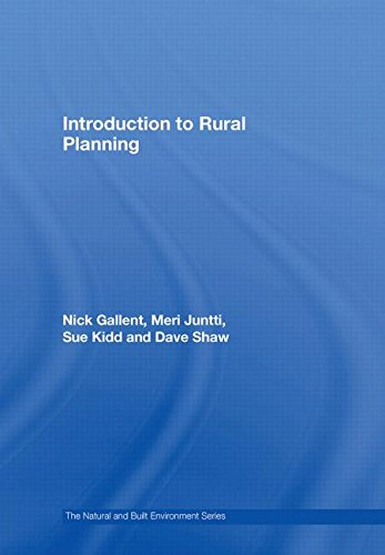 9780415429962: Introduction to Rural Planning (Natural and Built Environment Series)