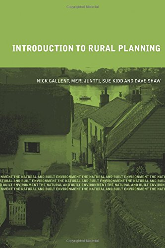9780415429979: Introduction to Rural Planning (Natural and Built Environment Series)