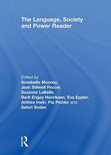 9780415430821: The Language , Society and Power Reader