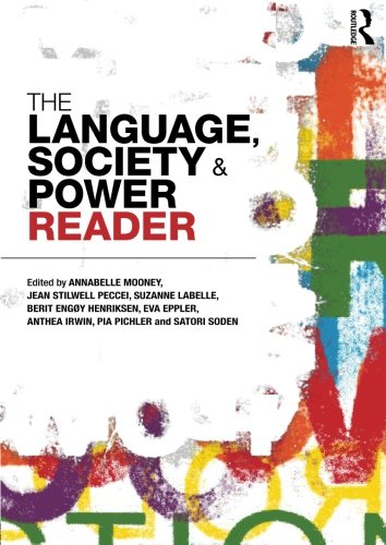 9780415430838: The Language , Society and Power Reader (Volume 1)