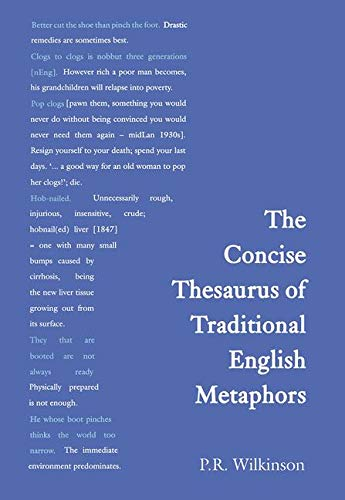 9780415430845: Concise Thesaurus of Traditional English Metaphors