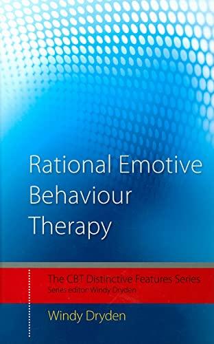 9780415430852: Rational Emotive Behaviour Therapy: Distinctive Features (CBT Distinctive Features)