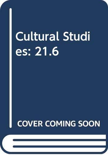 9780415431446: Cultural Studies: 21.6