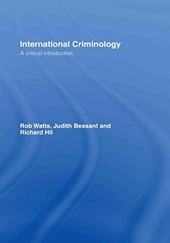 9780415431781: International Criminology: A Critical Introduction