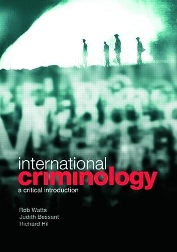 9780415431798: International Criminology: A Critical Introduction