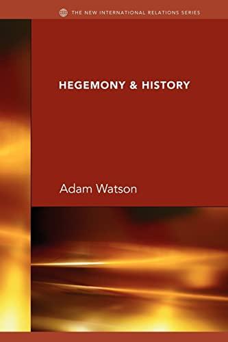 9780415432320: Hegemony & History