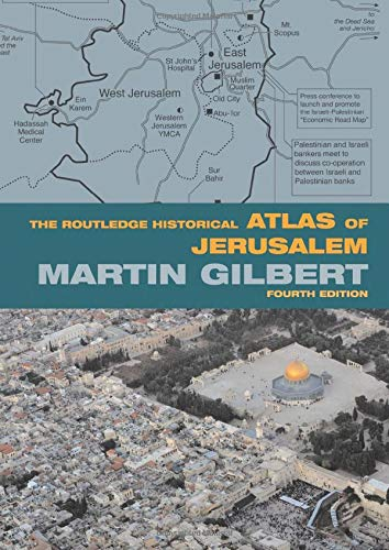 9780415433440: The Routledge Historical Atlas of Jerusalem: Fourth edition