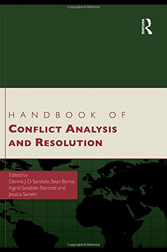 9780415433952: Handbook of Conflict Analysis and Resolution