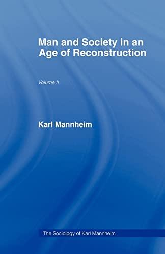 9780415436748: Man & Soc Age Reconstructn V 2