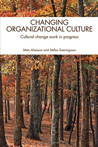 9780415437622: Changing Organizational Culture: Cultural Change Work in Progress