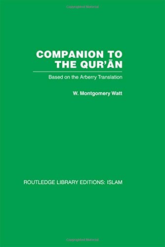 9780415439008: Companion to the Qur'an: Based on the Arberry Translation