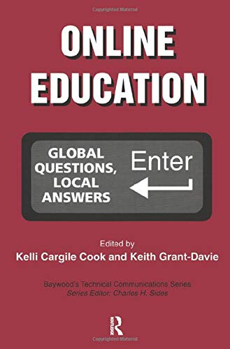 9780415439084: Online Education: Global Questions, Local Answers