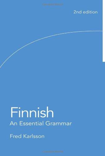 9780415439145: Finnish: An Essential Grammar (Routledge Essential Grammars)