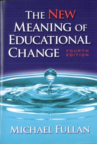 9780415439572: The New Meaning of Educational Change