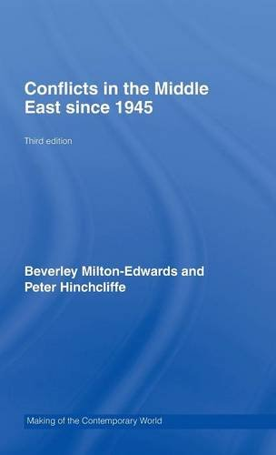 9780415440165: Conflicts in the Middle East since 1945 (The Making of the Contemporary World)