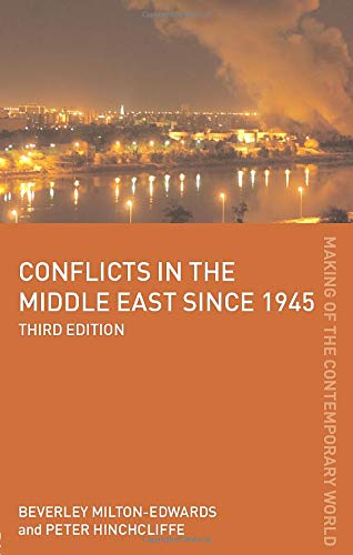 9780415440172: Conflicts in the Middle East since 1945 (The Making of the Contemporary World)