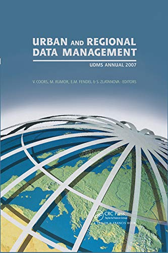 9780415440592: Urban and Regional Data Management: UDMS 2007 Annual