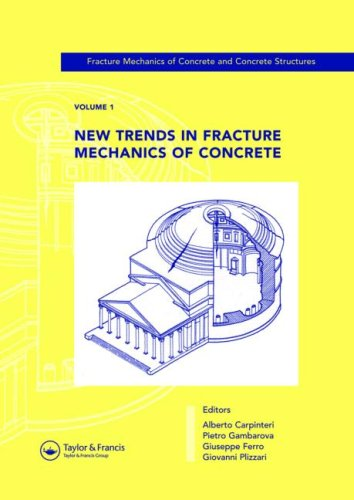 9780415440653: New Trends in Fracture Mechanics of Concrete: Fracture Mechanics of Concrete and Concrete Structures, Volume 1 of the Proceedings of the 6th ... Catania, Italy, 17-22 June 2007, 3-Volumes
