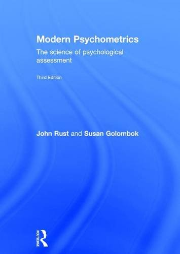 9780415442169: Modern Psychometrics, Third Edition: The Science of Psychological Assessment