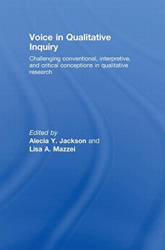 9780415442206: Voice in Qualitative Inquiry: Challenging conventional, interpretive, and critical conceptions in qualitative research