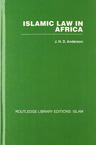 9780415442886: Law and Institutions: Mini-set B 6 vols: Islamic Law in Africa: Volume 1