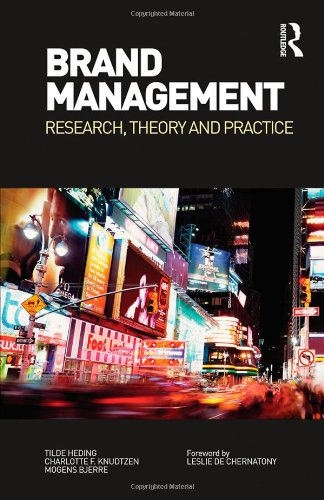 9780415443265: Brand Management: Research, Theory and Practice
